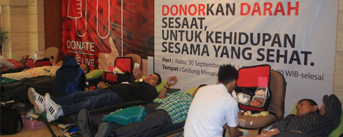 Donor Darah Asuransi Asei
