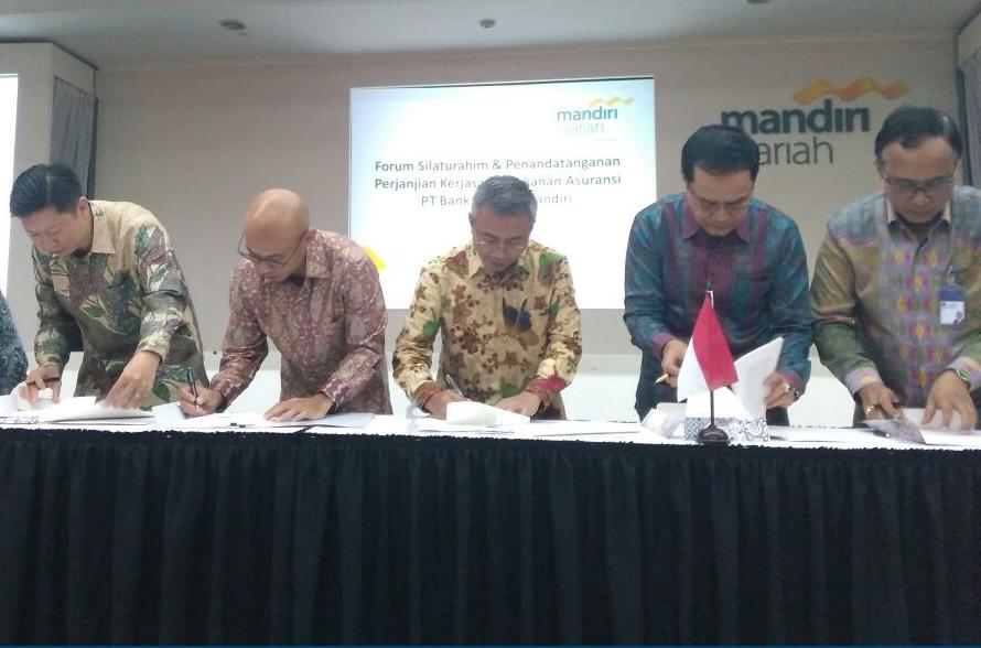 Penandatanganan Perjanjian Kerjasama antara PT Asuransi Asei Indonesia dengan Bank Syariah Mandiri