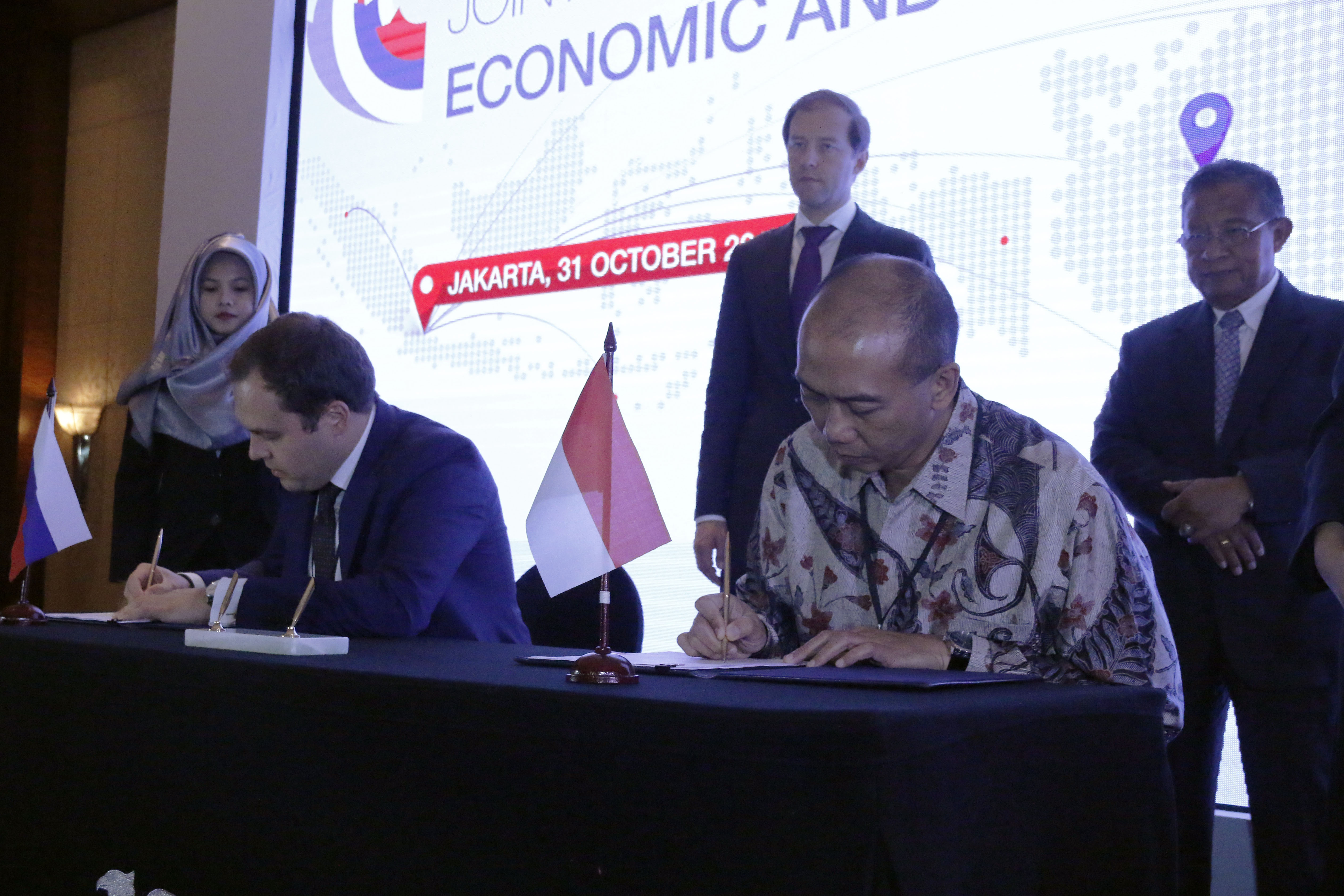 Penandatanganan Agreement dengan Russian Agency for Export Credit and Investment Insurance (EXIAR)