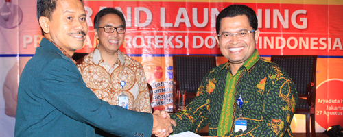 Grand Launching Program Proteksi Dokter Indonesia