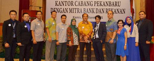 Malam Silaturahmi Mitra Bank dan Rekanan Asuransi Asei di Pekanbaru