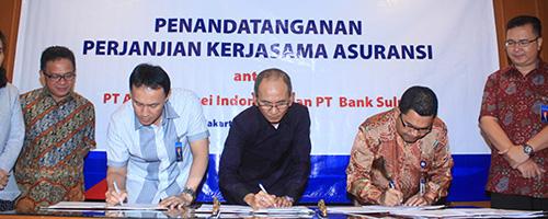 Asuransi Asei tandatangani kerjasama dengan PT Bank Sulut