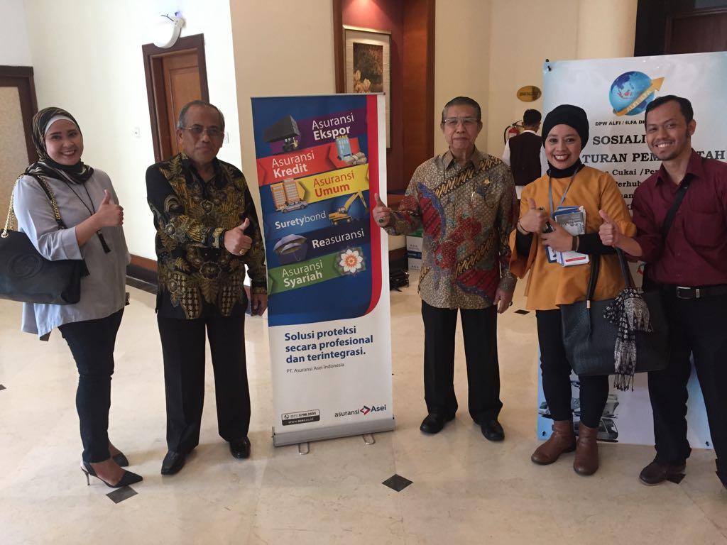Sosialisasi Peraturan Pemerintah oleh ALFI/ILFA DPW DKI Jakarta