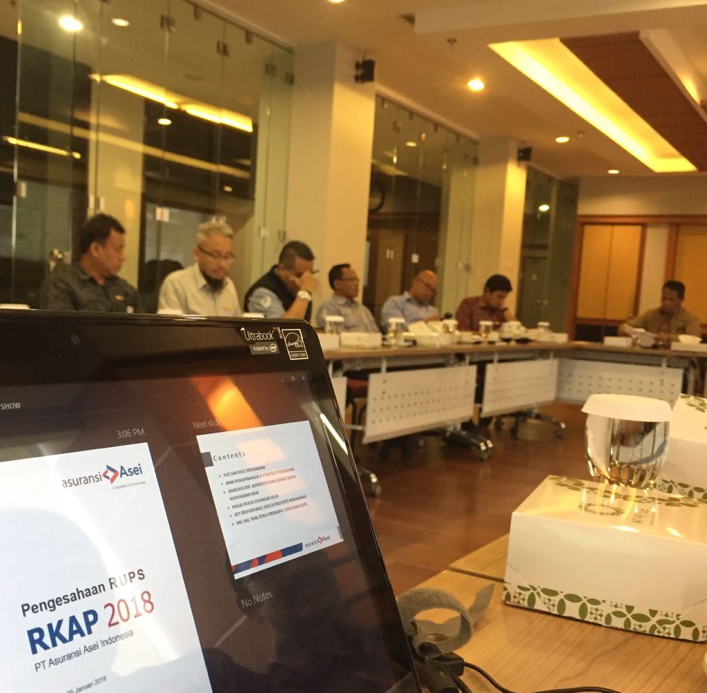 Rapat Umum Pemegang Saham RKAP 2018