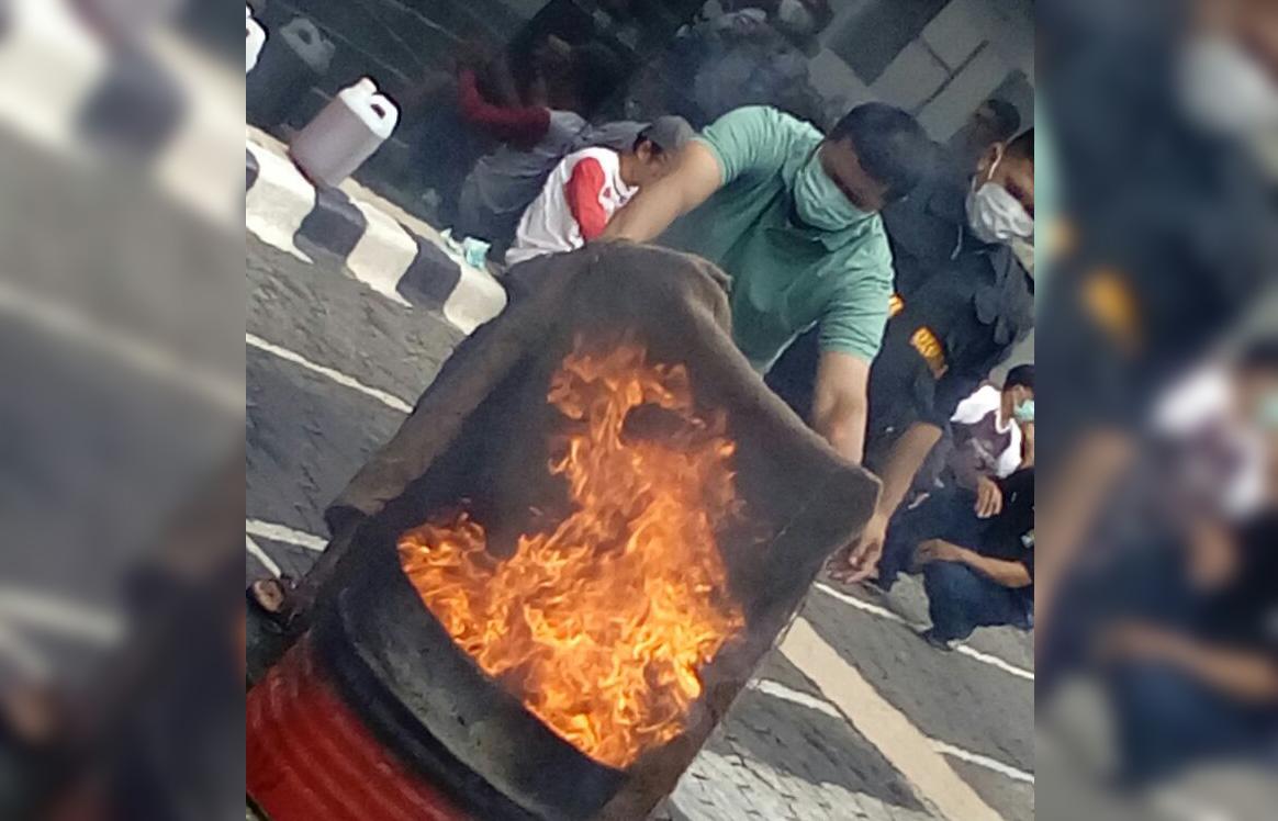 Simulasi Kebakaran di Asuransi Asei