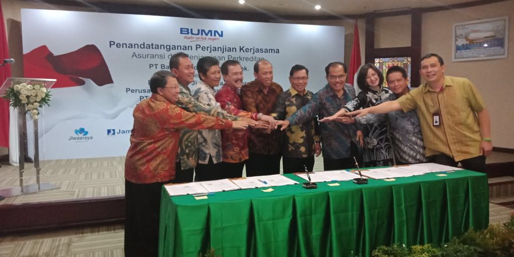 Asuransi Asei Collaborates with Bank Mandiri to Guarantee Customer Credits