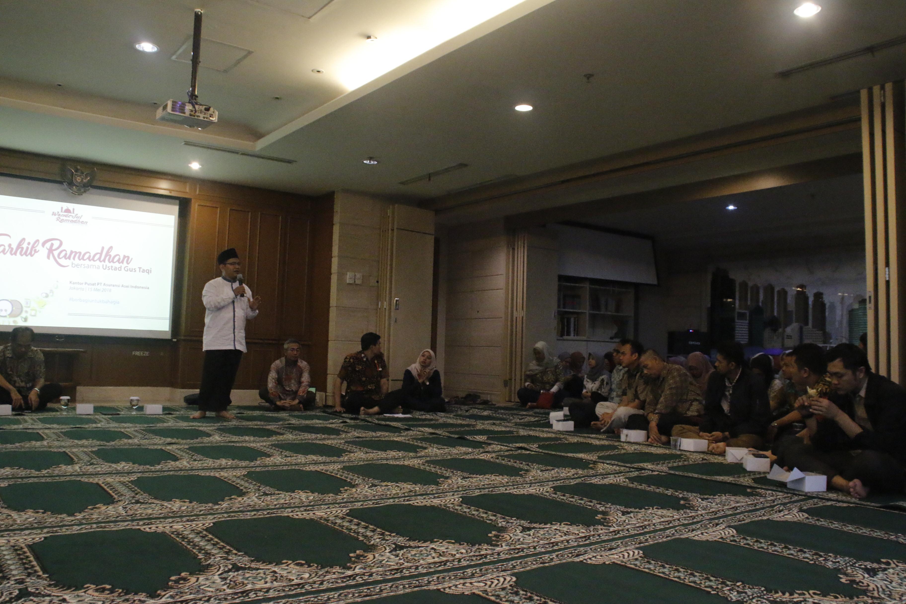 Tarhib Ramadhan Asuransi Asei