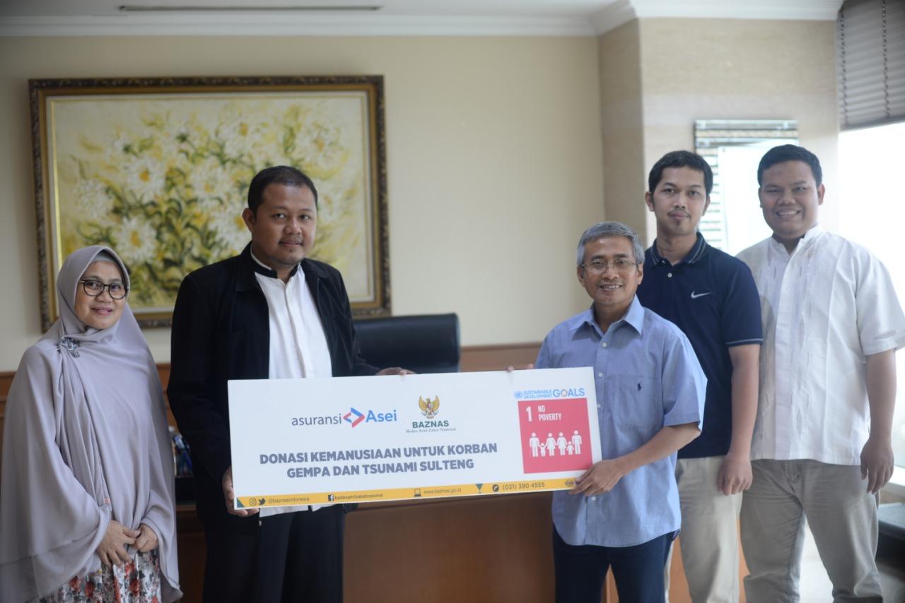 Penyerahan Donasi Kemanusiaan Korban Gempa Dan Tsunami di Sulteng