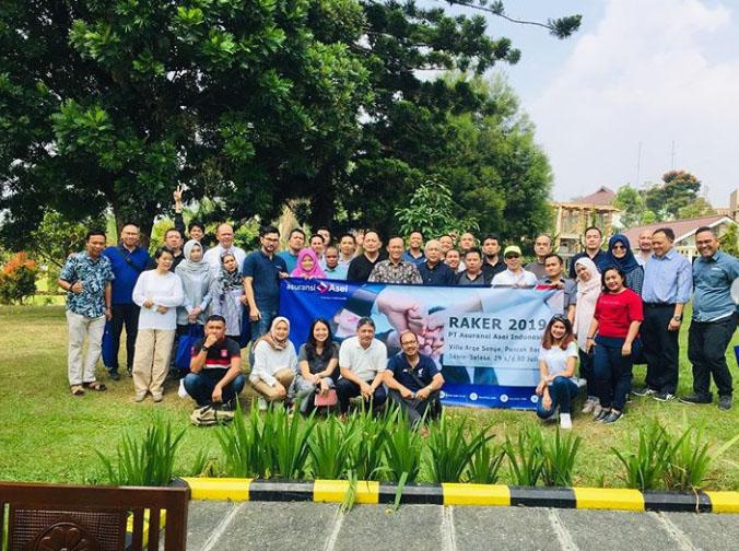 Rapat Kerja (Raker) PT Asuransi Asei Indonesia Tahun 2019