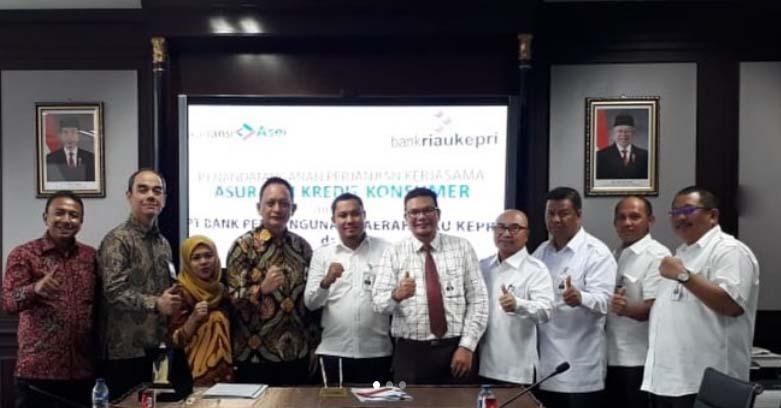 Perjanjian Kerjasama Penutupan Asuransi Kredit Konsumer antara Asei  dengan Bank Riau Kepri