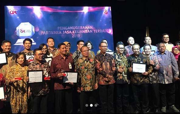 Malam Penganugerahan Pariwara Jasa Keuangan Terbaik 2019