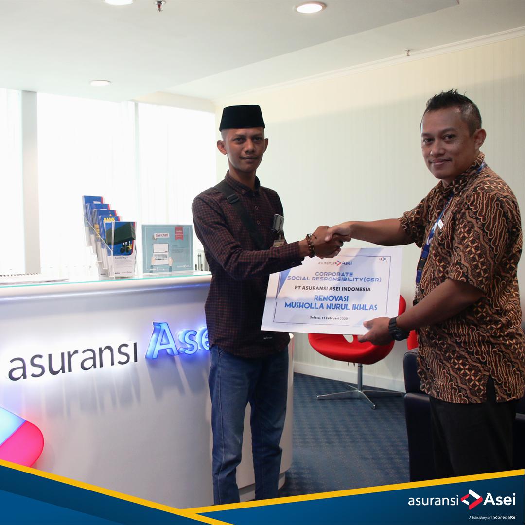 Asei Membantu Renovasi Masjid di Kp. Bogor, Bekasi.