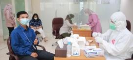 Prioritaskan Kesehatan, PT Asuransi Asei Indonesia Mengadakan Swab Antigen Kepada Pegawai